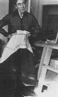 Charles James at work 2