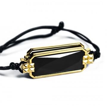 black-yellow-bracelet